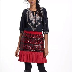 Sequined Suelta Skirt By Moulinette Soeurs